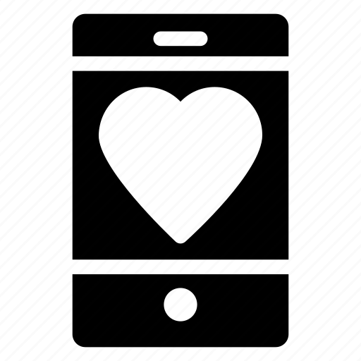 heart sign, love sign, love symbol, mobile screen icon