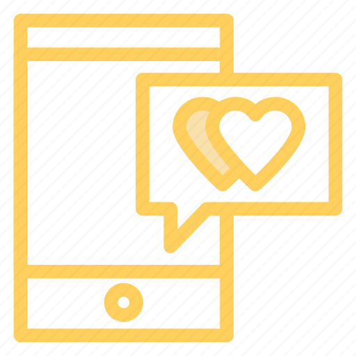 chat, love, mobile, romance, wdding icon