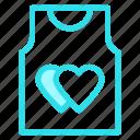 love, romance, shirt, wdding icon