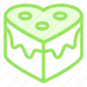 cake, love, romance, wedding icon