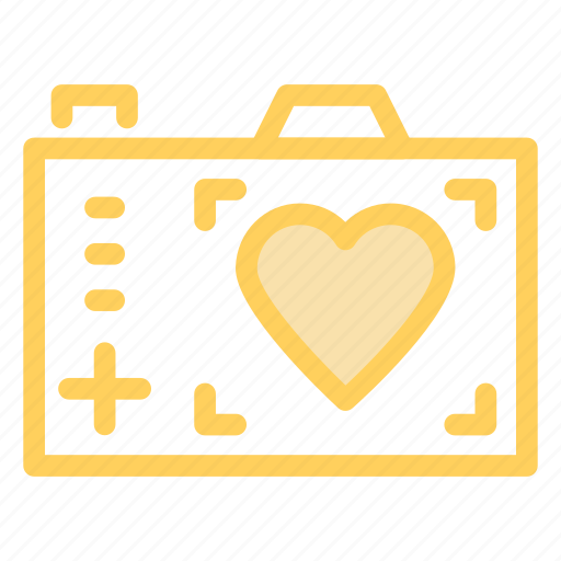 camera, digital, love, photographer icon