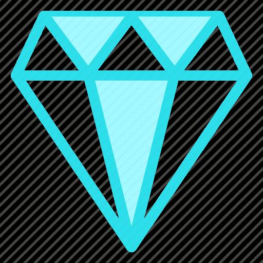 diamont, gift, love, quality icon