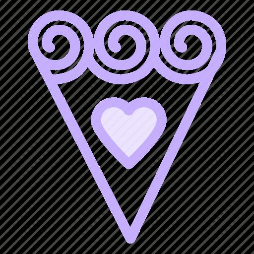 bouquet, flower, love, romance icon