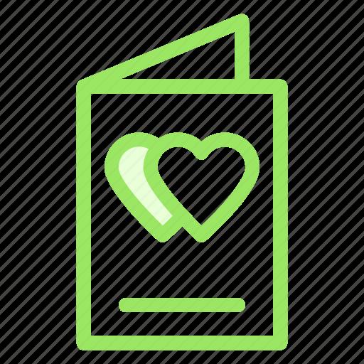 card, greeting, love, romance, wdding icon