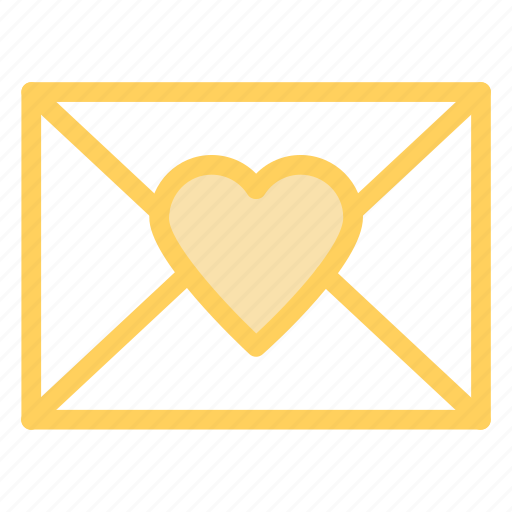 letter, love, mail, romance icon