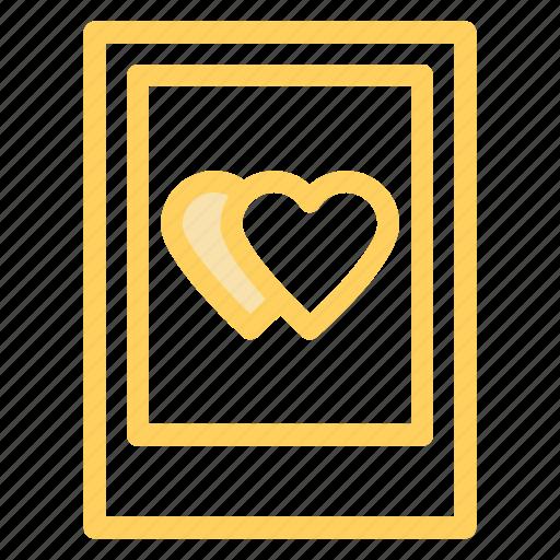 hearts, love, picture, romance, wdding icon