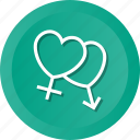 female, love, male, marriage, valentine, wedding icon