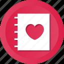 card, guest, invitation, love icon
