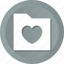 affection, data, love icon