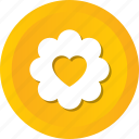 blossom, flower, love, rose, rosebud icon