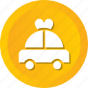 car, heart, limousine, love, marriage, transport, transportation icon
