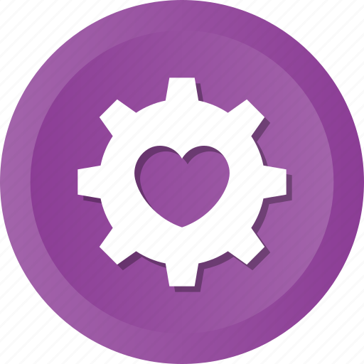 couple, female, heart, love, male, relationship, setting icon