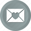 envelope, love, romantic icon