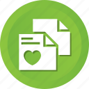 favorite, files, heart, like, love, rate, valentine icon