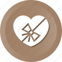 event, gift, heart, prize, romance, valentine, wedding icon