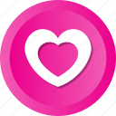 heart, hearts, love, loving, romance, valentine, wedding icon