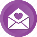 invitation, letter, love, ml, post icon