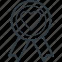 award badge, celebration, champion, insignia, winner icon