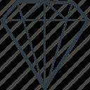 diamond, gemstone, gift, happiness, precious icon