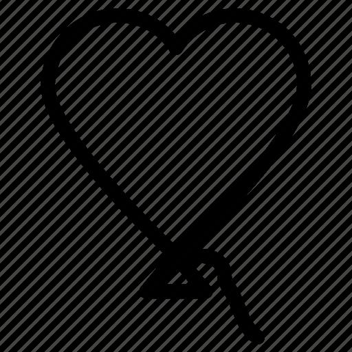 celebrations, decoration, heart balloon, valentine heart icon, • birthday icon