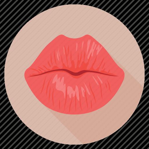 kiss, lips, lips beauty, mouth, romance icon
