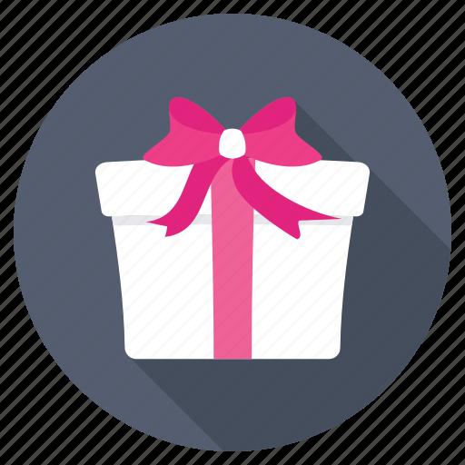 anniversary gift, birthday present, giftbox, party, present icon