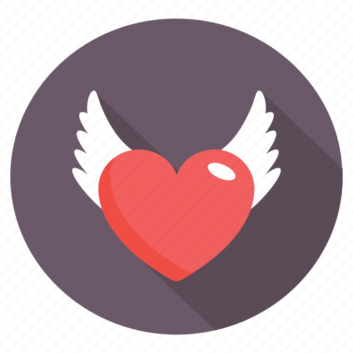 feeling loved, heart plant, love in air, sharing love, spreading love icon