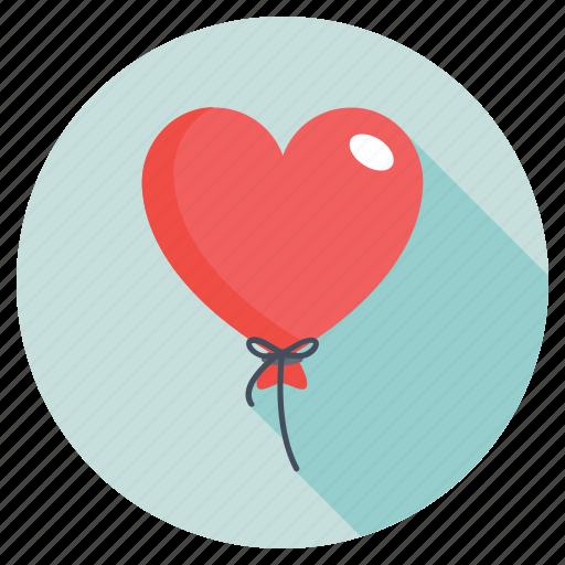 heart balloon, heart shaped balloon, helium balloon, red balloon, valentines day icon