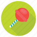 candy, confectionery, lollipop, snack, sweet icon