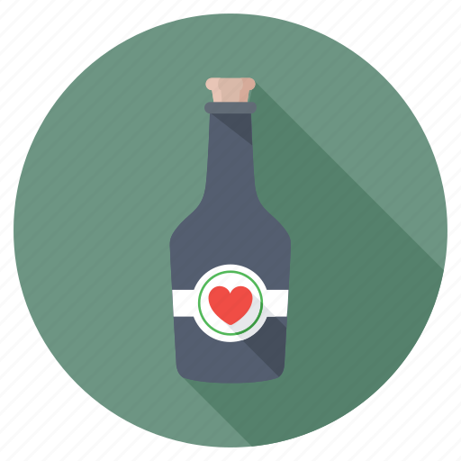 alcohol, alcoholic drink, beverage, drink bottle, wine bottle icon