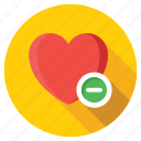 cancel dating, love sign, remove heart, remove passion, valentine heart icon