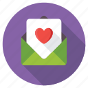 feelings, in love, love letter, love message, proposal letter icon