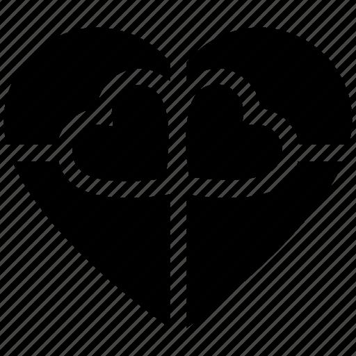 chocolate, gift, gift box, heart, heart shaped, love, present box icon