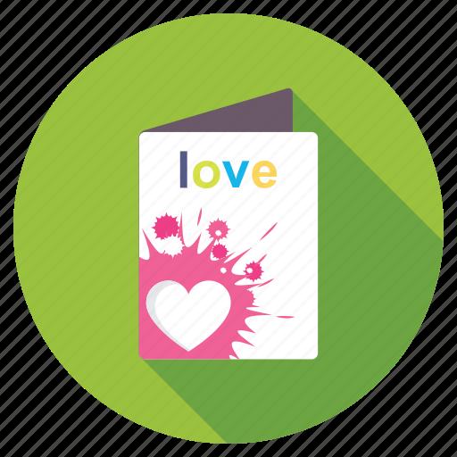 gift card, greeting card, romantic card, valentine card, valentine greeting icon