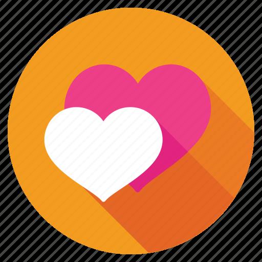 favorite, feeling loved, hearts, love, romantic icon