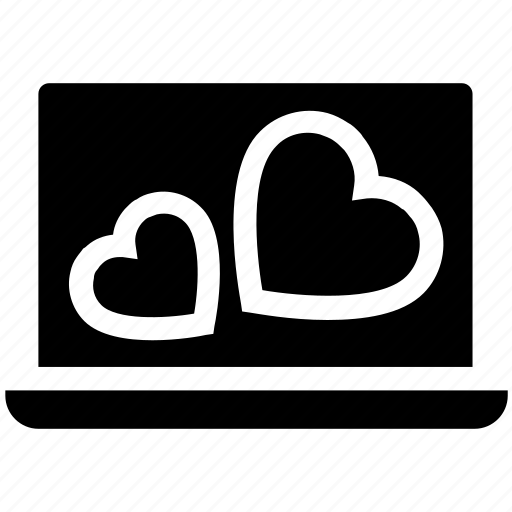Dating, heart, laptop, love, macbook, marriage, valentine icon - Download on Iconfinder