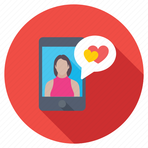 affair, online dating, romantic conversation, romantic talk online, romantic video chat icon
