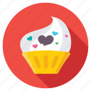 bakery, cupcake, dessert, fairy cake, muffin icon