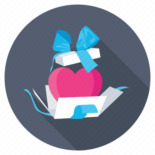 couple gift, love gift, romantic gift, valentine gift, valentine greeting icon