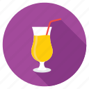 beverage, cocktail, cocktail glass, drink, juice icon