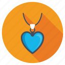 heart charm, heart locket, heart necklace, heart pendant, jewellery icon