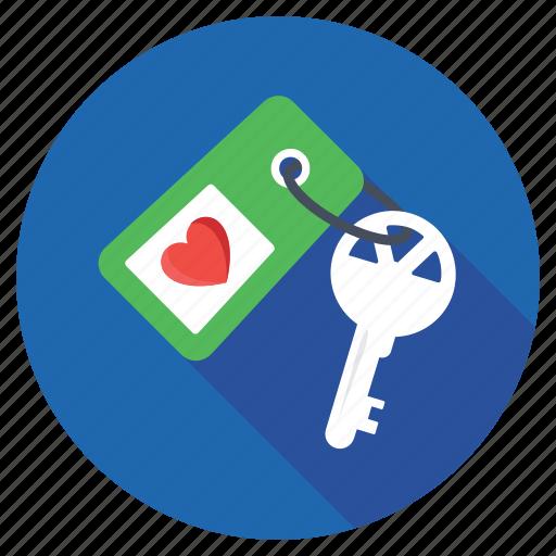 heart key, heart keychain, heart keyring, love key, valentines day icon