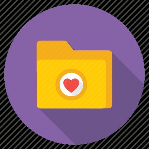 favorite folder, love folder, love inspiration, love theme, wedding memories icon