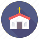 cathedral, chapel, christianity, church, worship icon