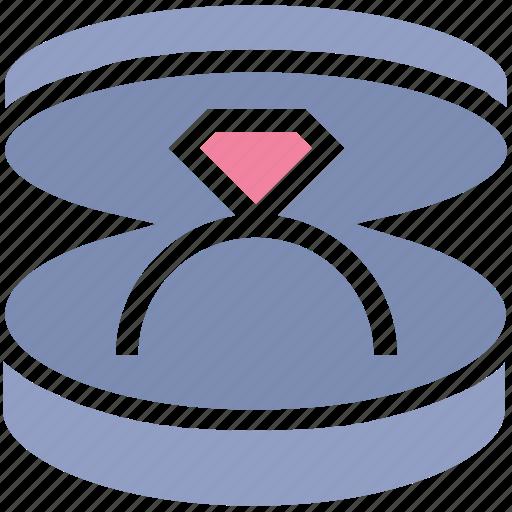 diamond ring, engage, engagement, jewelry, ring box, wedding, wedding ring icon