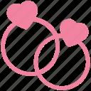 diamond rings, engagement, heart rings, jewelry, love, wedding, wedding rings icon