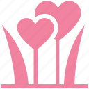clover, clover flower, flower, heart, love inspirations, plant, valentine icon