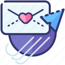email, heart, love, mail, message, romantic, valentine