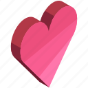 favourite, heart, like, love, valentine, valentines icon