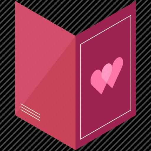 card, day, heart, love, valentine, valentines icon